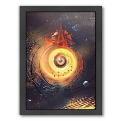 Americanflat Space Framed Wall Art