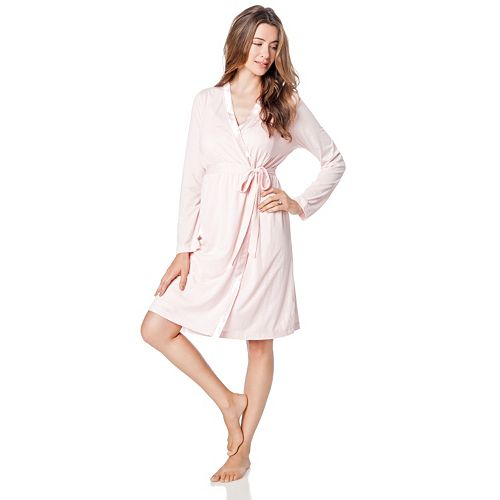 2a49295e5ff4f Maternity Oh Baby by Motherhood™ Nursing Gown & Robe Set