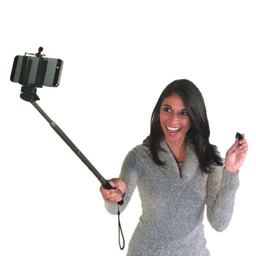 BEM Telescoping Selfie Monopod with Bluetooth Remote