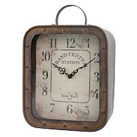 Stonebriar Collection Grand Central Station Tabletop Clock