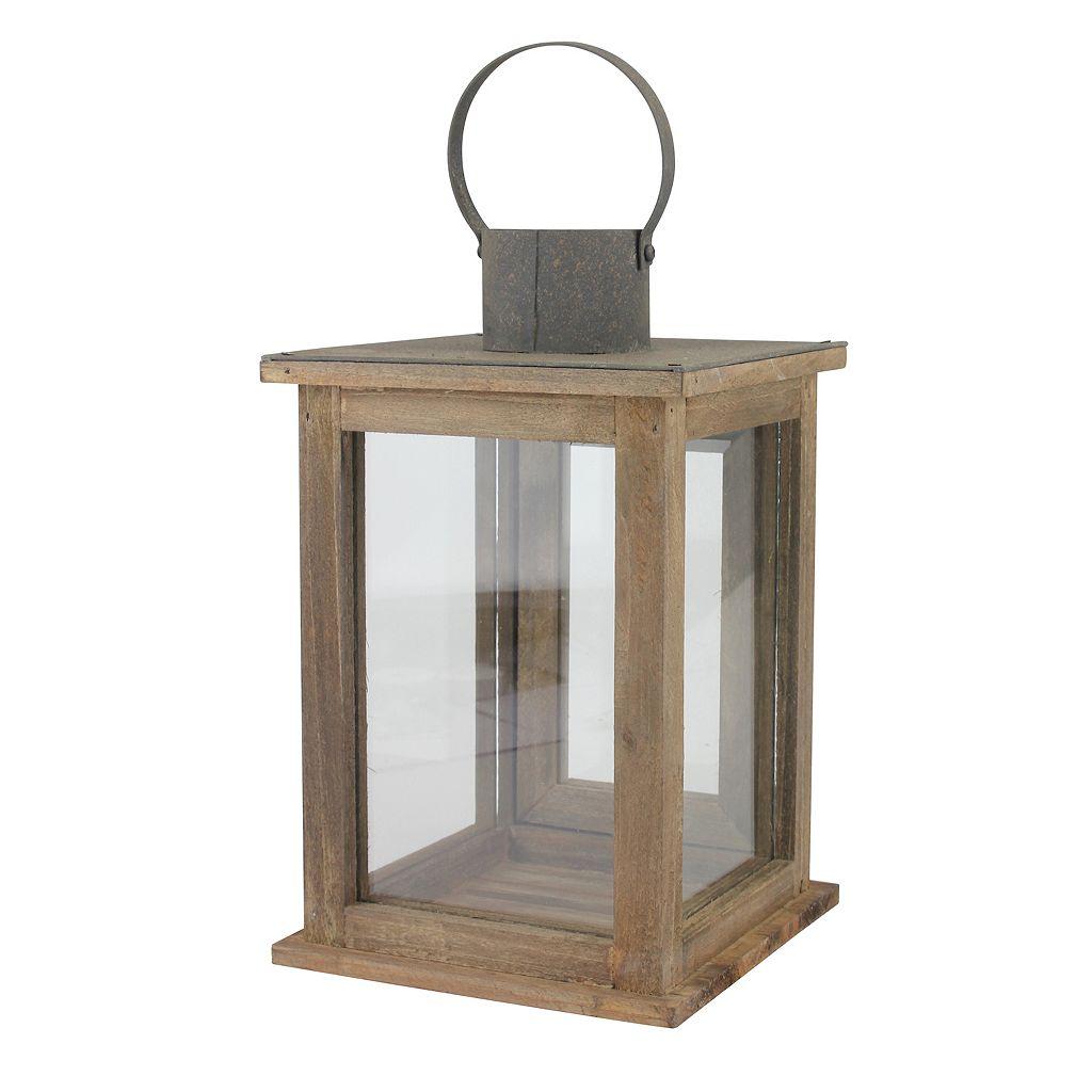 Stonebriar Collection Medium Rustic Lantern
