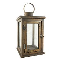 Stonebriar Collection Large Rustic Lantern