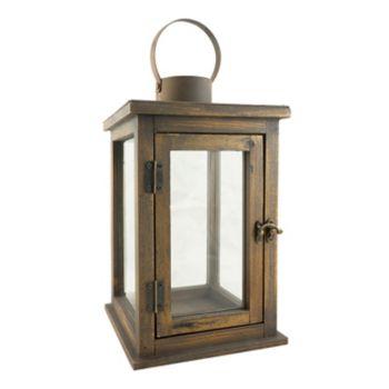 Stonebriar Collection Large Rustic Lantern
