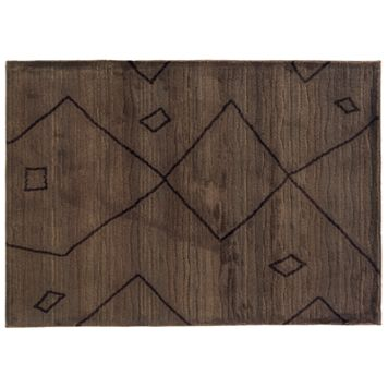 StyleHaven Marlow Brown Tribal Rug