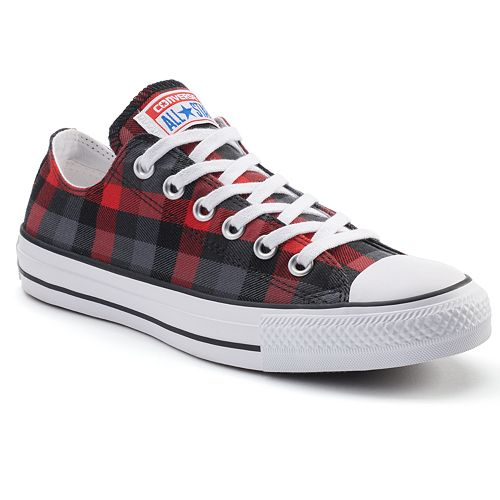 ee07b0072c4d Adult Converse Chuck Taylor All Star Plaid Sneakers