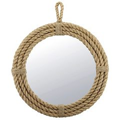 Stonebriar Collection Rope Wall Mirror