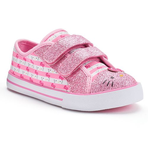 144c8fe0a Hello Kitty® Toddler Girls' Glitter Sneakers