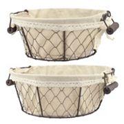 Stonebriar Collection 2 pc Basket Set