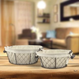 Stonebriar Collection 2-piece Basket Set