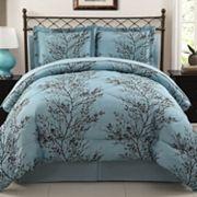 VCNY Leaf 8 pc Bed Set