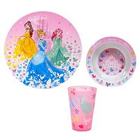 Disney Princess 3 pc Kid's Dinnerware Set by Jumping Beans®