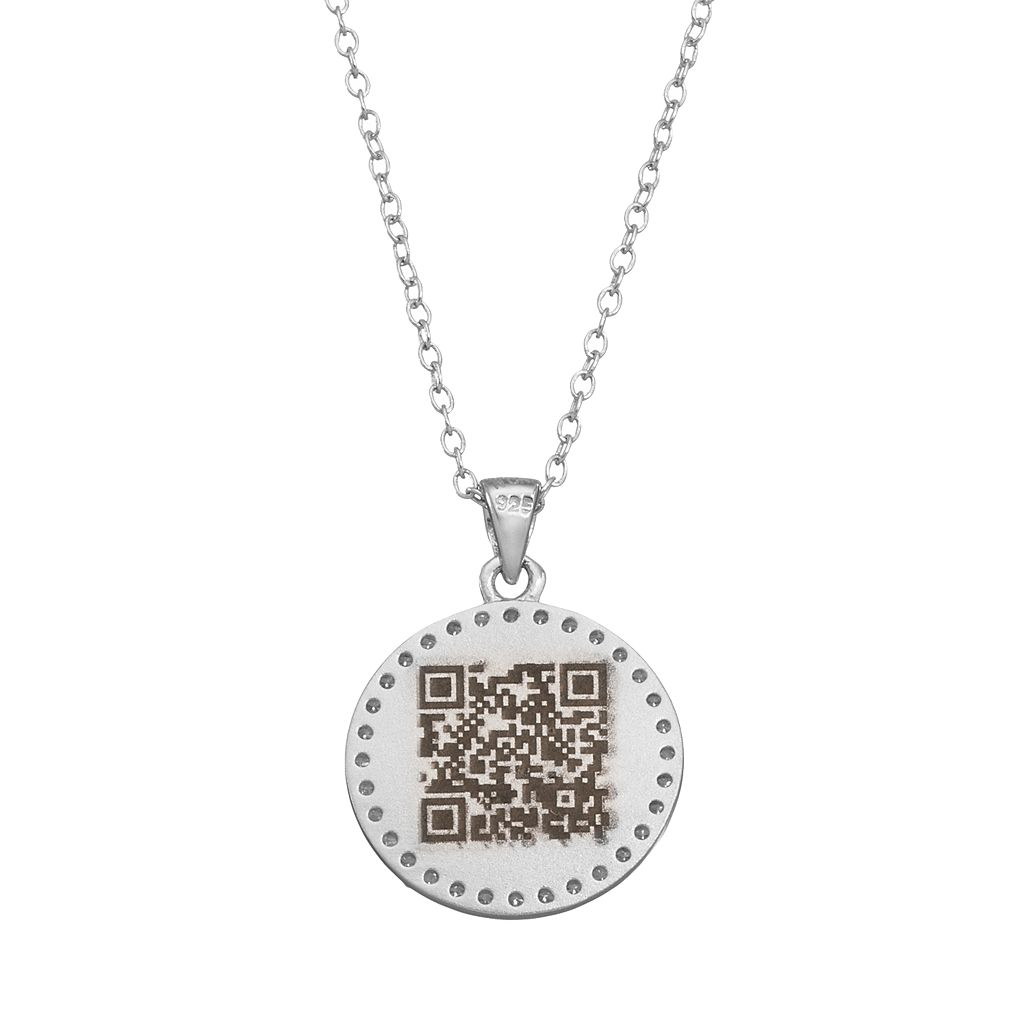 qnotes Cubic Zirconia Sterling Silver