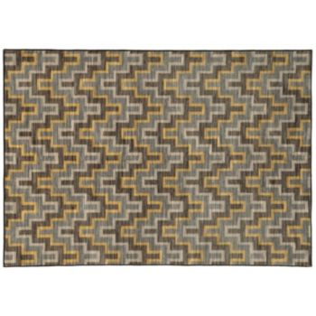 StyleHaven Rowe Geometric Chevron Rug