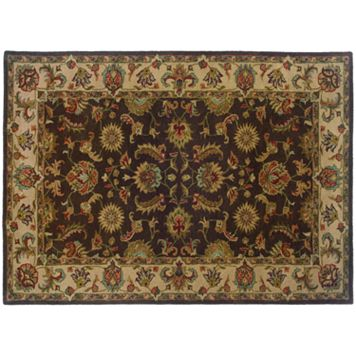 StyleHaven Windsor Floral Brown Wool Rug