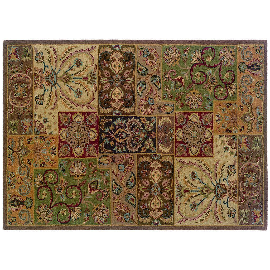 Oriental Weavers Windsor Floral Colorblock Wool Rug