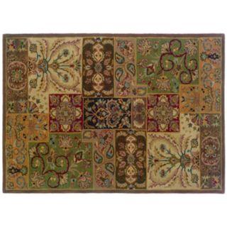 StyleHaven Walden Floral Colorblock Wool Rug