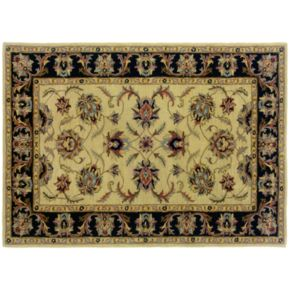 StyleHaven Walden Floral Ivory Wool Rug