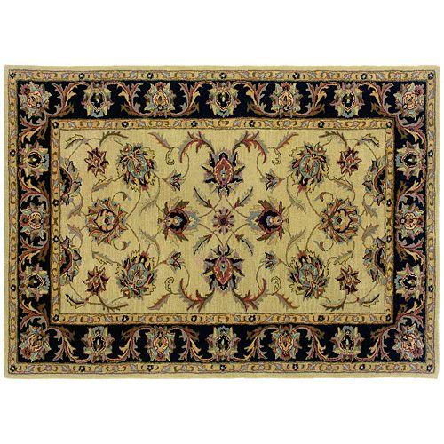 Oriental Weavers Windsor Floral Ivory Wool Rug