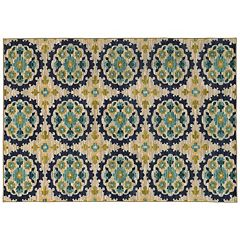 StyleHaven Rowe Floral Panel Rug