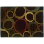 StyleHaven Talbot Abstract Circle Rug