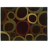 Oriental Weavers Tybee Abstract Circle Rug