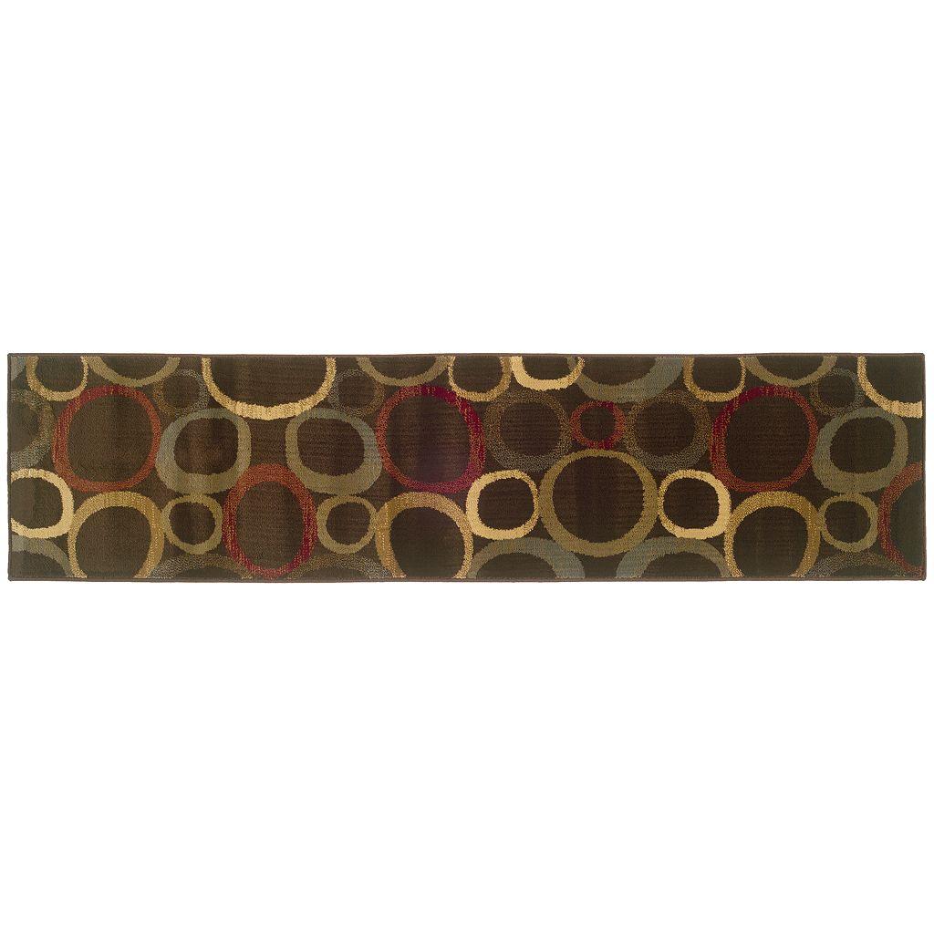 StyleHaven Talbot Abstract Circle Rug