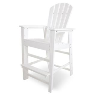 POLYWOOD® South Beach Outdoor Bar Chair