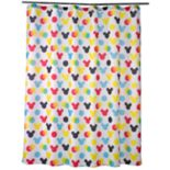 Disney's Mickey Mouse Polka Dot Fabric Shower Curtain by Jumping Beans®