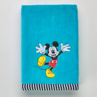 Disney's Mickey Mouse Applique Hand Towel by Jumping Beans®