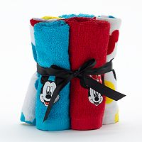 Disney's Mickey & Minnie Mouse 6-pack Washcloth by Jumping Beans®
