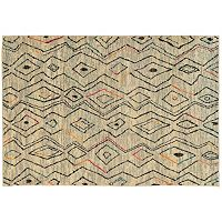StyleHaven Gypsy Abstract Tribal Diamond Rug