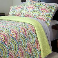 Portsmouth Home Melanie 3 pc Quilt Set - Full / Queen