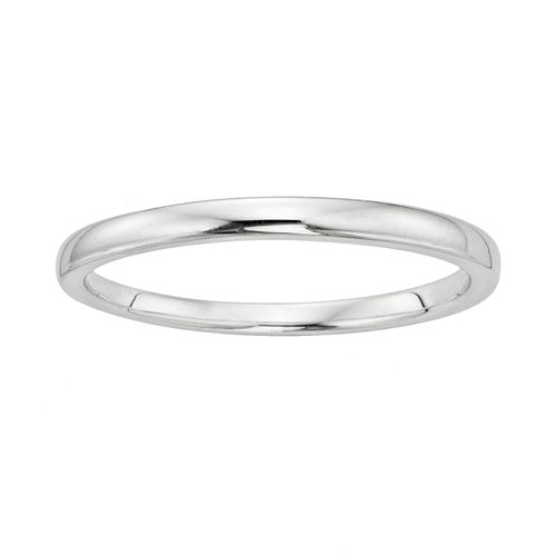 I Promise You Sterling Silver Wedding Ring
