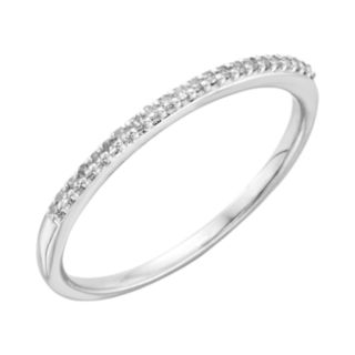 I Promise You 1/10 Carat T.W. Diamond Sterling Silver Wedding Ring