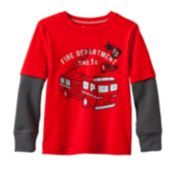Jumping Beans® Graphic Skater Thermal Tee - Toddler Boy