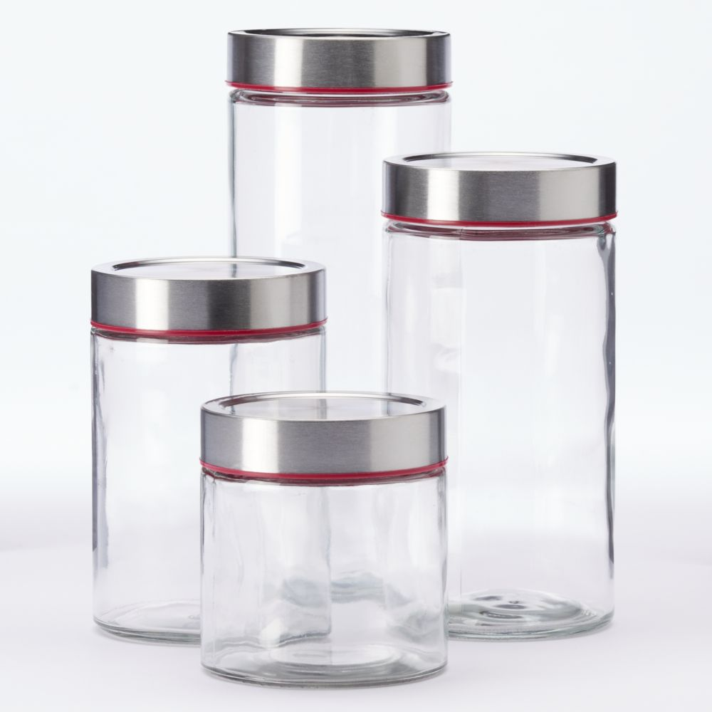network 4 pc kitchen canister set