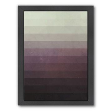 Americanflat Ombre Framed Wall Art