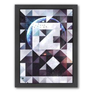 Americanflat Orbit Geometric Framed Wall Art