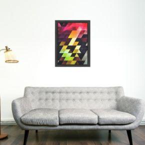 Americanflat Geometric Framed Wall Art