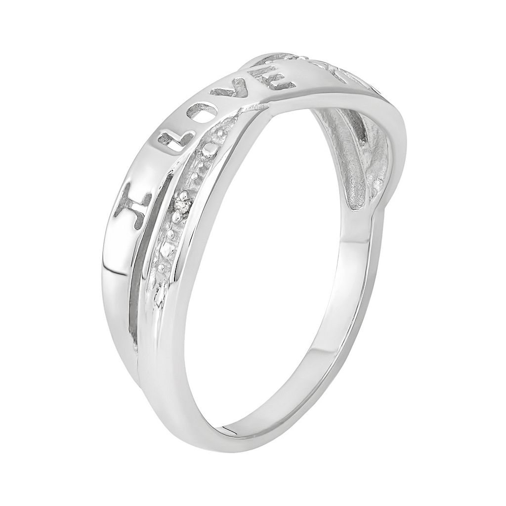 Diamond Accent Sterling Silver