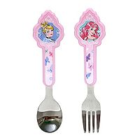 Disney Princess 2 pc Toddler Fork & Spoon Set by Jumping Beans®