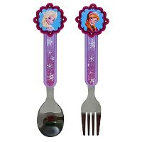 Disney's Frozen 2-pc. Toddler Fork & Spoon Set by Jumping Beans®