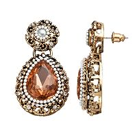 GS by gemma simone Vintage Filigree Collection Teardrop Earrings