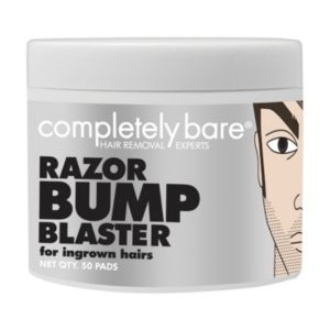 Completely Bare Razor Bump Blaster Pads