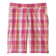 SO® Slash Pocket Twill Bermuda Shorts - Girls 6-16 & Girls' Plus