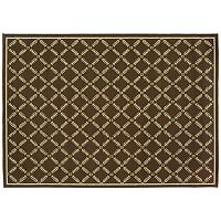 StyleHaven Cayman Lattice Indoor Outdoor Rug