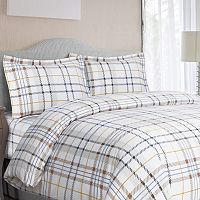 Luxury 3 pc Flannel Duvet Cover Set