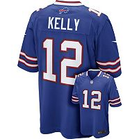 Men's Nike Buffalo Bills Jim Kelly NFL Replica Jersey