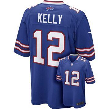 Men's Nike Buffalo Bills Jim Kelly NFL Replica Jersey