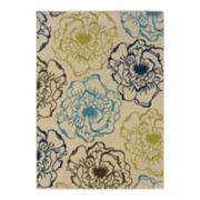 StyleHaven Cayman Floral Indoor Outdoor Rug